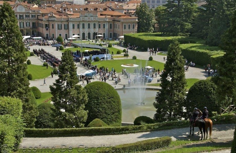 Palazzo Estense e i suoi  meravigliosi giardini