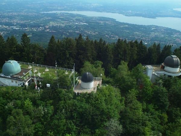 Parco Campo dei Fiori - vista sui laghi